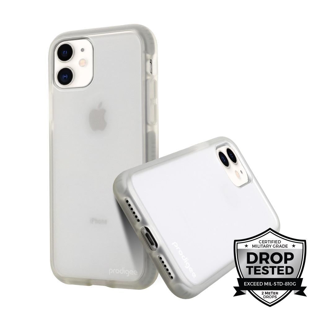 Case Prodigee Safetee Smooth iPhone 11 Plateado
