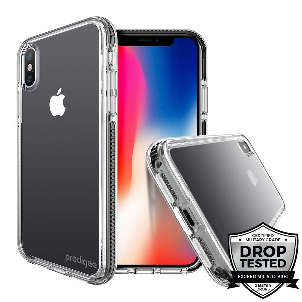 Case Prodigee Safetee Steel iPhone Xs Max Negro