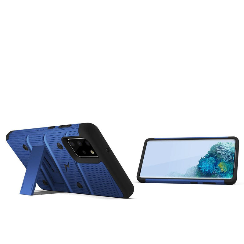 Case Zizo Bolt Series Samsung S20 Plus Azul & Negro