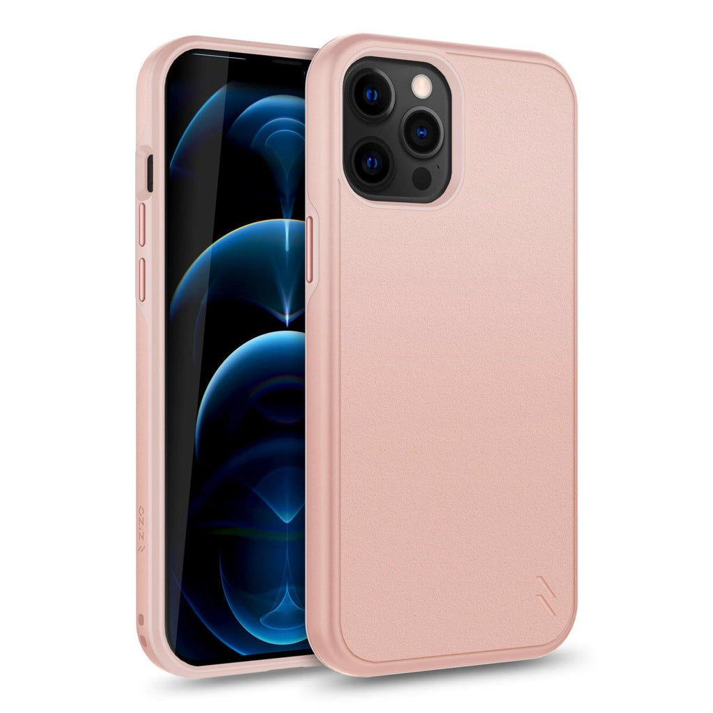Case Zizo Division Series Iphone 12 Pro Max Negro RoseGold