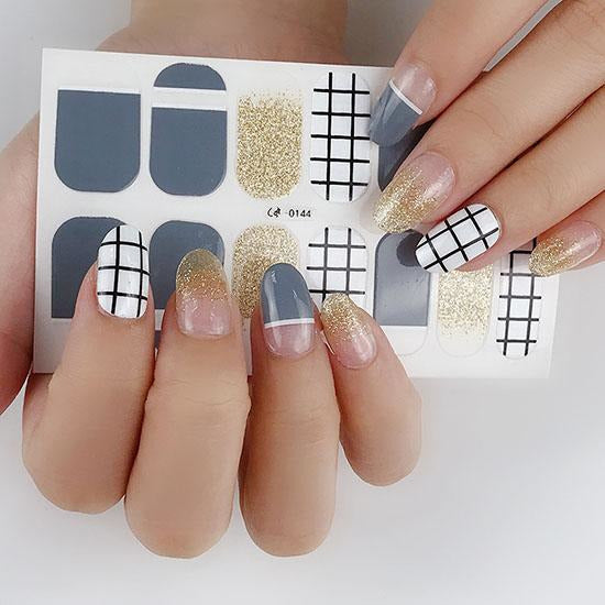 Paper Moon Gel Nail Wraps