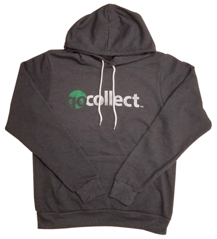 GoCollect Hoodie in Heather Gray