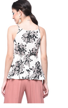 Load image into Gallery viewer, Floral spaghetti top
