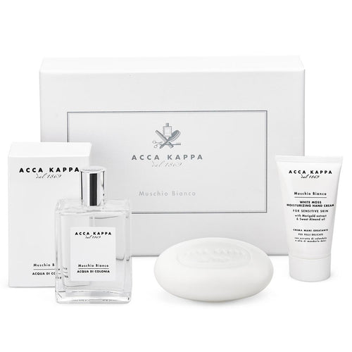 Acca Kappa gift set with cologne, soap and hand cream