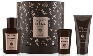 Acqua di Parma Colonia Sandalo Gift Set cologne spray 100ml, shower gel 75ml and candle 65g