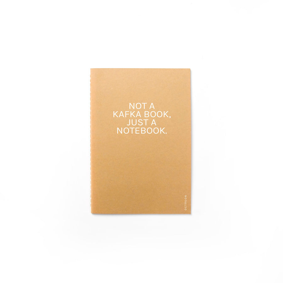 Not a Kafka book, just a notebook