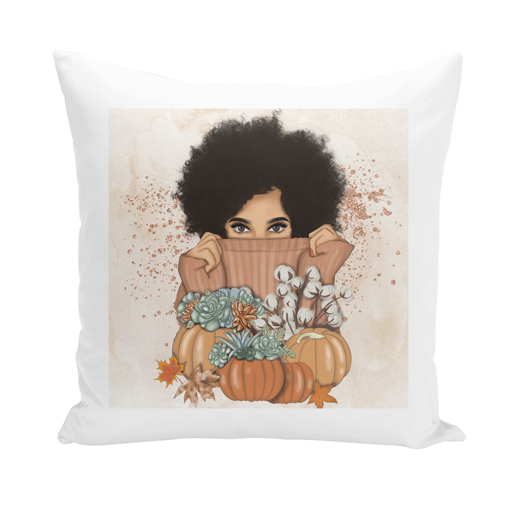 Fall Vibes Throw Pillows