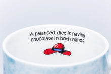 Load image into Gallery viewer, Red Hatter - Diet - Designer Mug