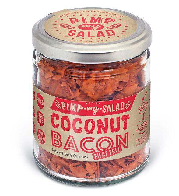 Pimp my Salad - Coconut Bacon
