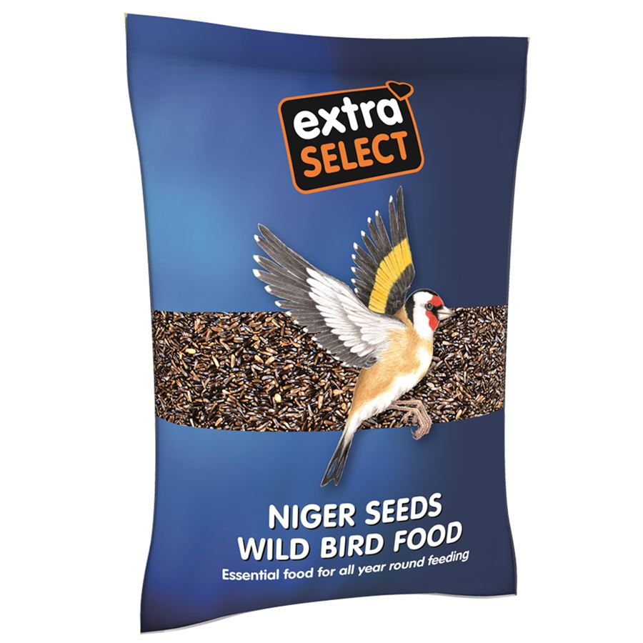 Extra Select Niger Seed | 1kg, Bird Food by Dog In A Box