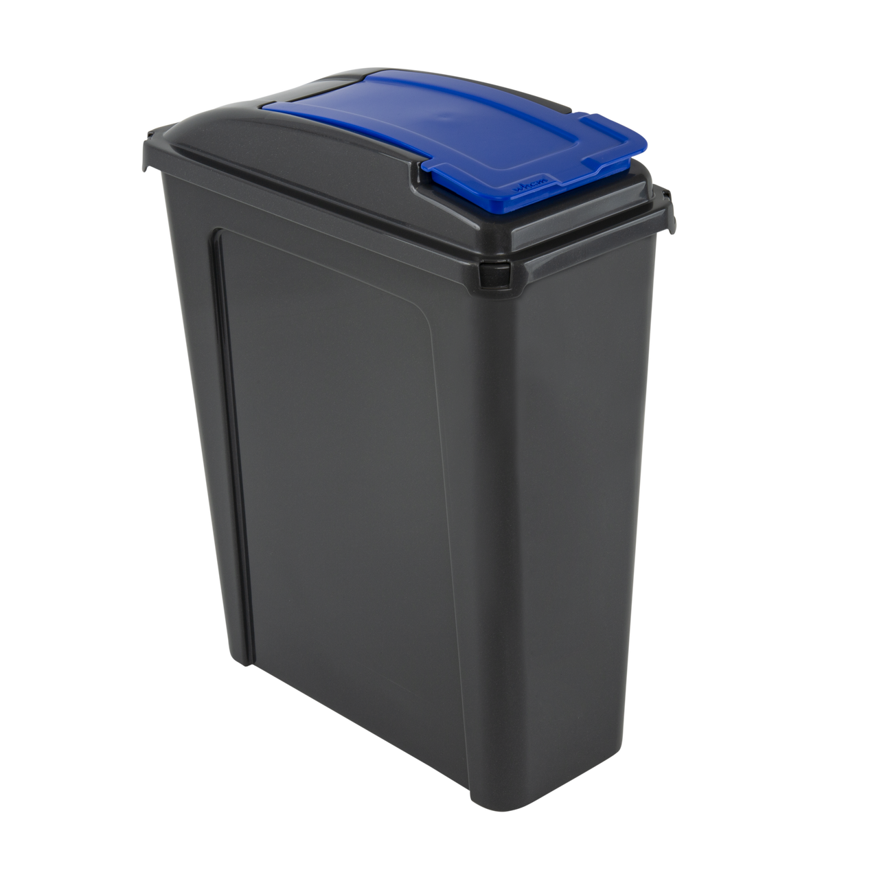 Wham 25 Litre Recycling / Pet Food Storage Bin - Blue & Graphite, Pet Food Containers by Dog In A Box