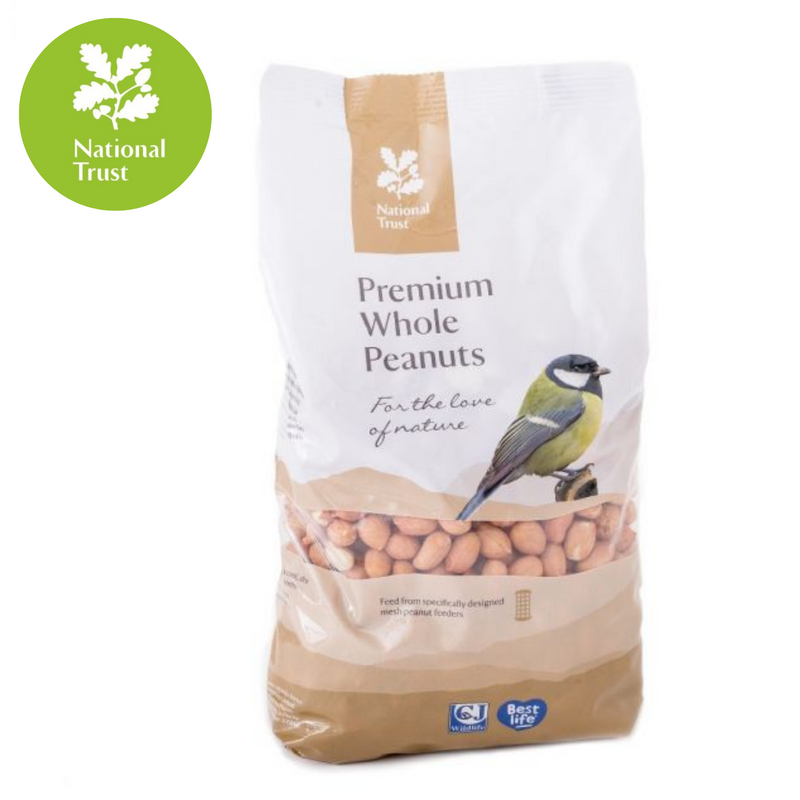 National Trust Premium Bird Peanuts 1.5ltr