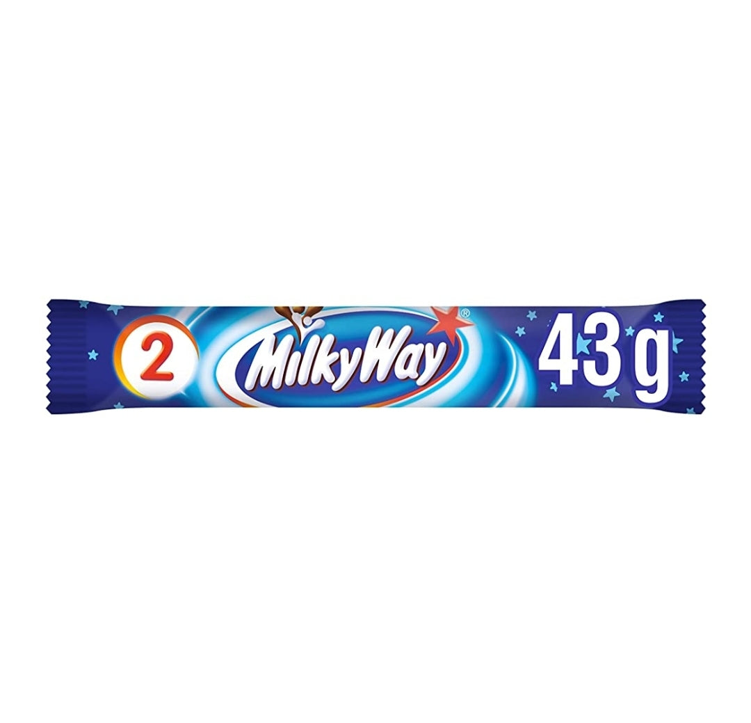 Milky Way Chocolate Bar - 43g, Food Items by Dog In A Box