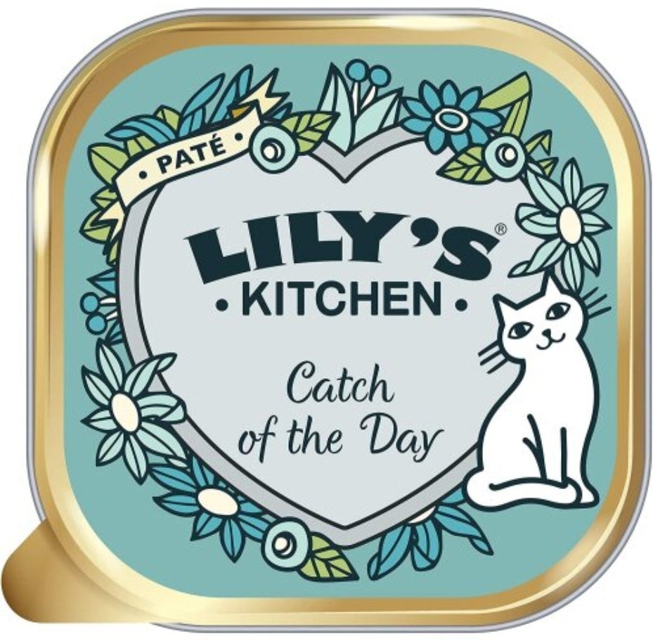 Lily's Kitchen Catch of the Day Complete Adult Wet Cat Food, Cat Food by Dog In A Box
