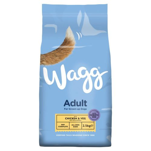 Wagg Complete Adult Chicken & Veg Dog Food - 2.5kg, Dog Food by Dog In A Box
