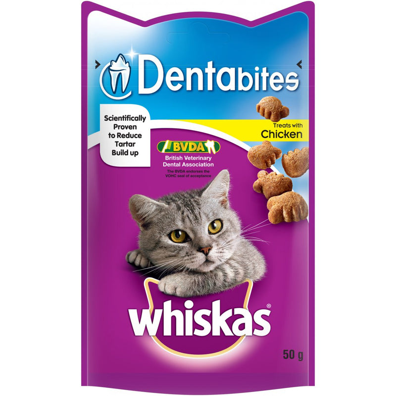 Whiskas Dentabites Chicken - 50g