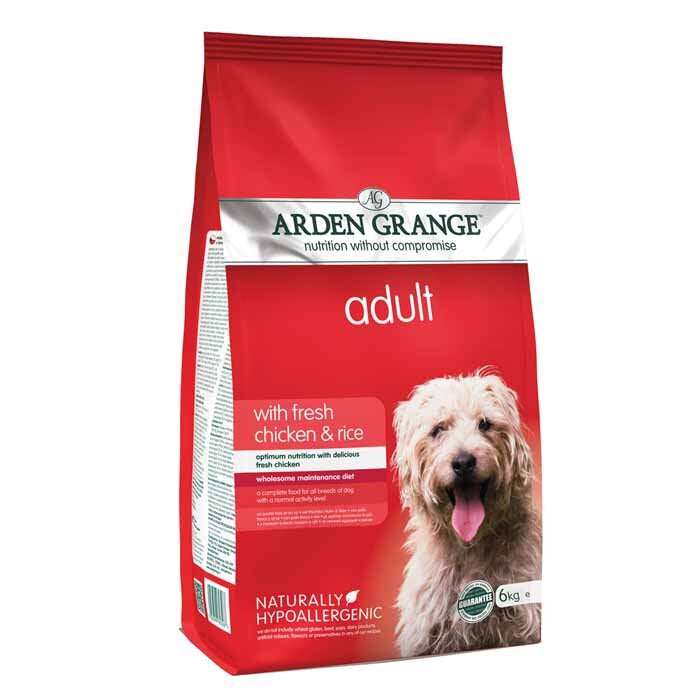 Arden Grange Adult Dog Food with Fresh Chicken & Rice, Dog Food by Dog In A Box