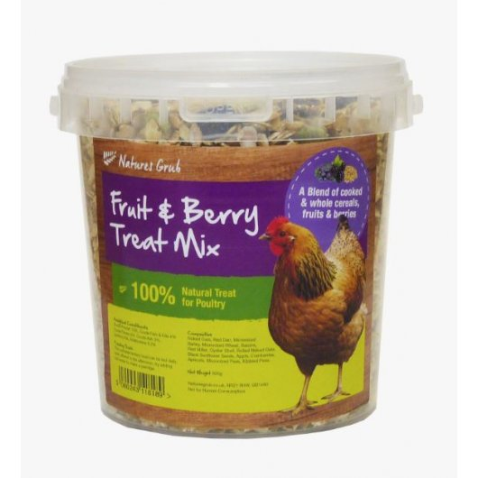 Natures Grub Fruit & Berry Treat Mix 1.2kg, Agriculture by Dog In A Box