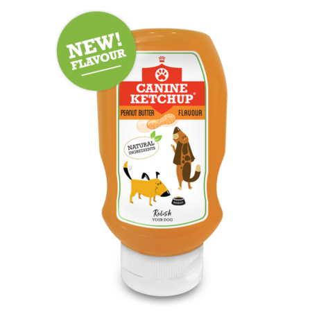 Canine Ketchup 425g - Peanut Butter Flavour, Animals & Pet Supplies by Dog In A Box