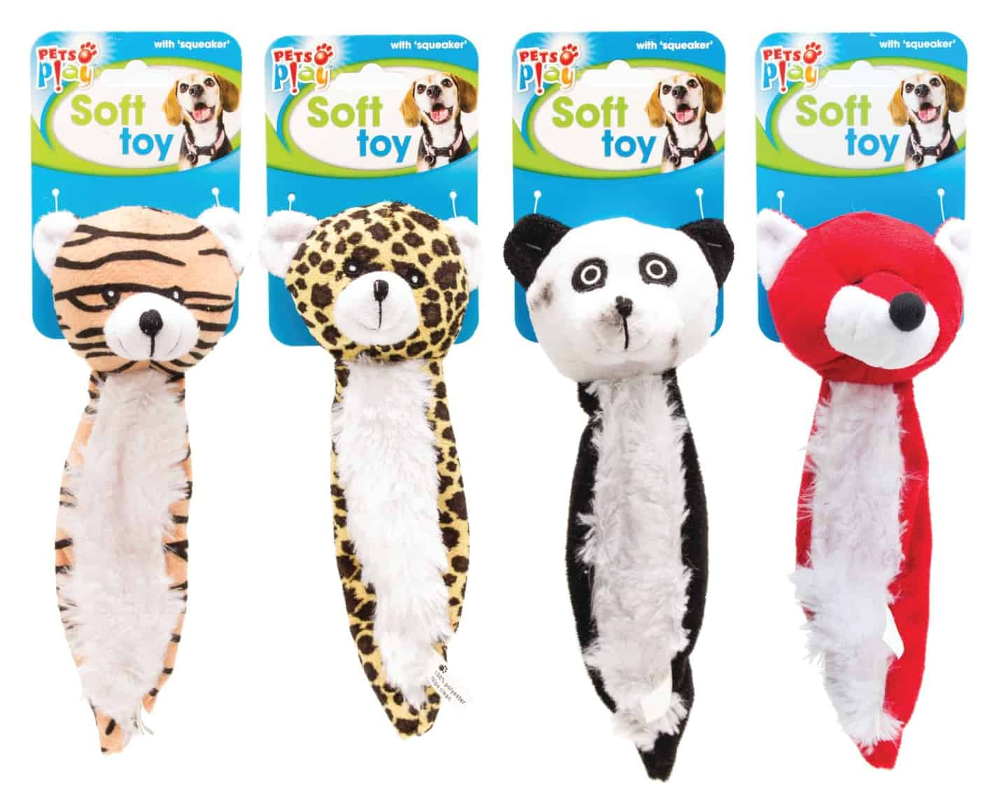 Pets at Play Soft Dog Toy with Squeaker, Animals & Pet Supplies by Dog In A Box