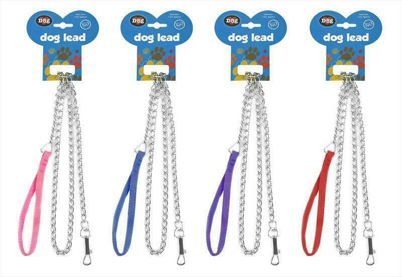 Dog Chain Lead - 120cm, Pet Leads by Dog In A Box