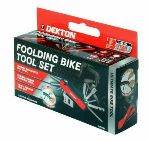 Folding Bike Tool Set 16 in 1 Multi-tool, Sporting Goods by Dog In A Box