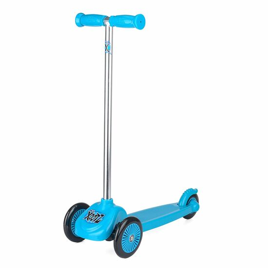 Xootz Kids Alloy Tilt Turn Mini Tri Scooter - Blue, Sporting Goods by Dog In A Box