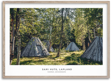 Load image into Gallery viewer, Sami Huts, Lapland