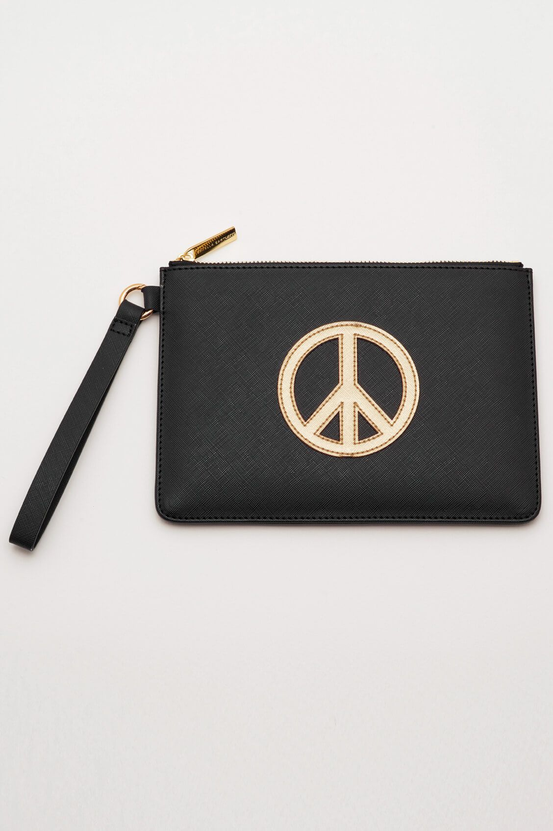 Pochette medium avec sangle vegan - PEACE