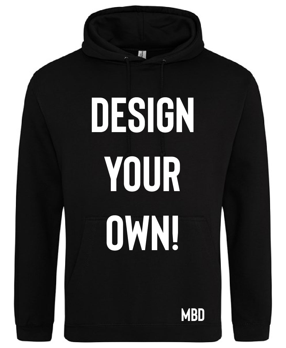 Design Your Own Adult Hoodie