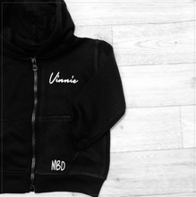 Load image into Gallery viewer, Signature Name Zip Hoodie