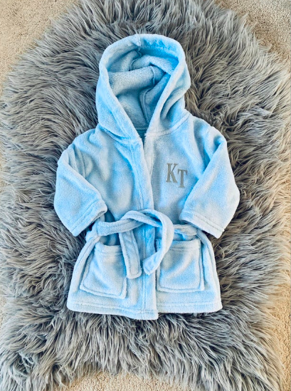 Personalised Dressing Gown (6 Months-6 Years)