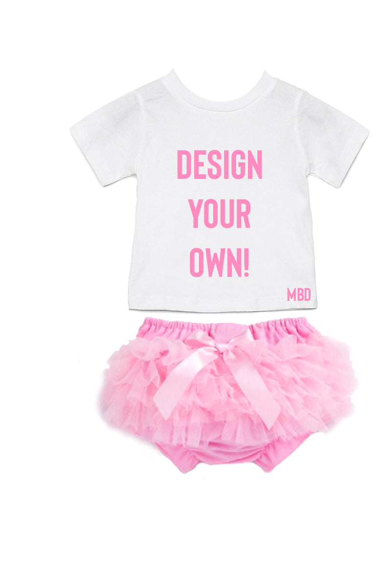 Design Your Own Bloomer & T-shirt Set