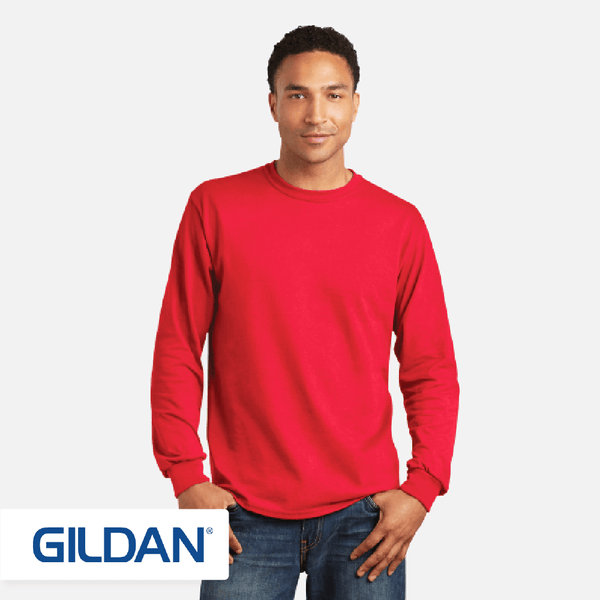 GILDAN® Heavy Cotton™ Long Sleeve T-Shirt. 5400