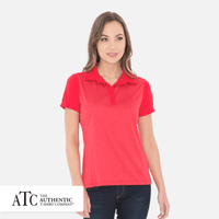 ATC™ Pro Team Heather ProFormance Colour Block Ladies' Sport Shirt. L3531