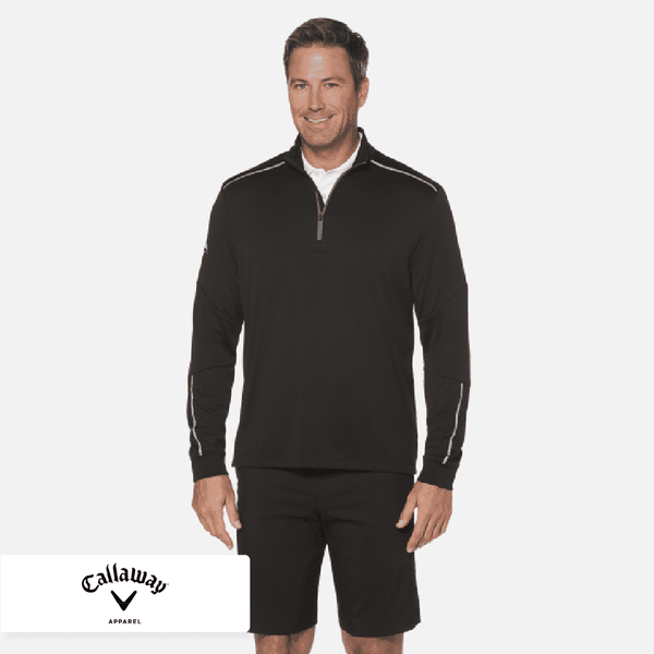 Callaway 1/4 Zip Water Repellent Pullover. CGM540
