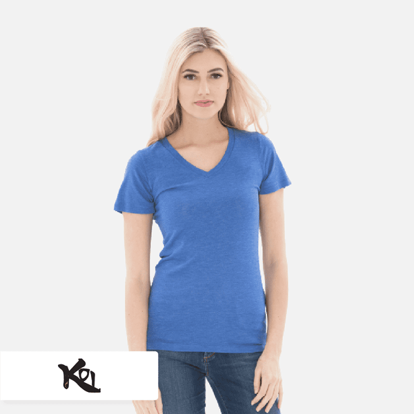 KOI® Triblend V-Neck Ladies' Tee. KOI8022L