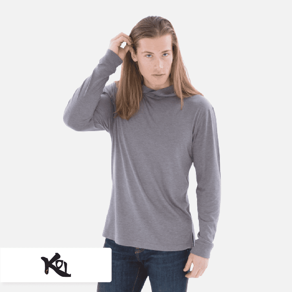 KOI® Triblend Long Sleeve Hooded Tee. KOI8031