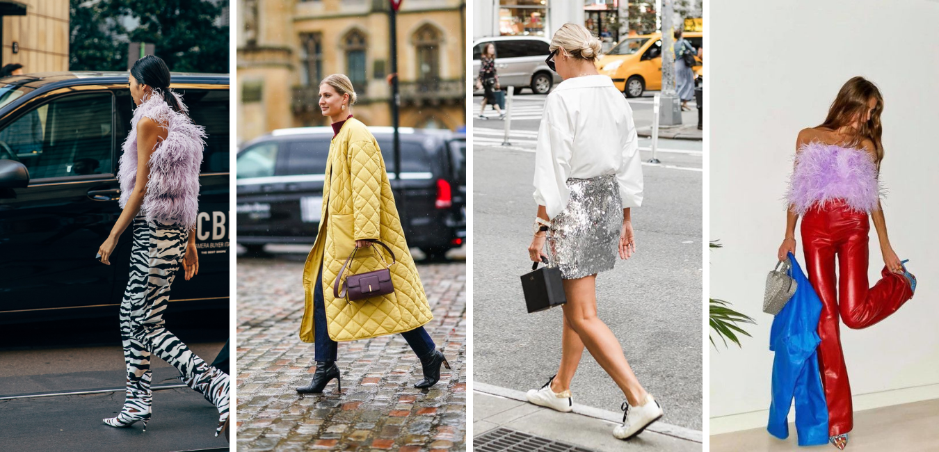 How to wear different texture