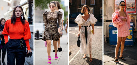Spring/Summer 2021 Fashion Trends Puff Sleeves