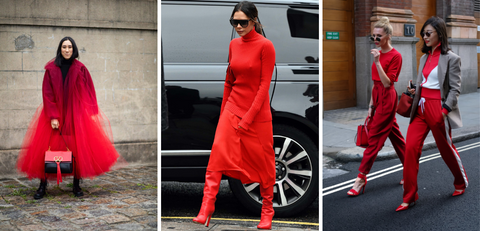Red Outfits