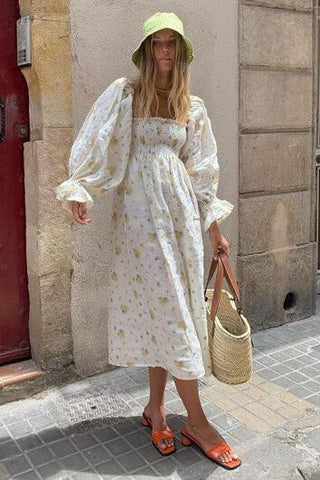 Feminine Soft Girly Bucket Hat Outfit