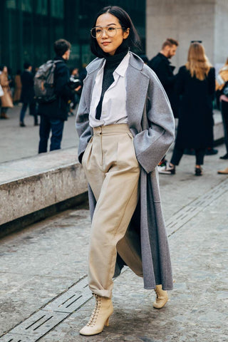 A shirt, knitwear & outerwear are a great place to start
