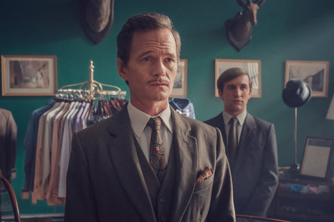 It's a Sin Neil Patrick Harris as Henry Coltrane, and Callum Scott Howells as Colin