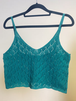 The Maria Knitted Cropped Camisole