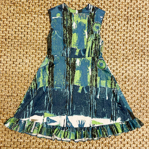 Abi Dress in Midcentury Print