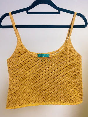 The Olivia Knitted Cropped Camisole Studio Courtenay