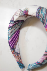 Curtain Call Print Headband Studio Courtenay