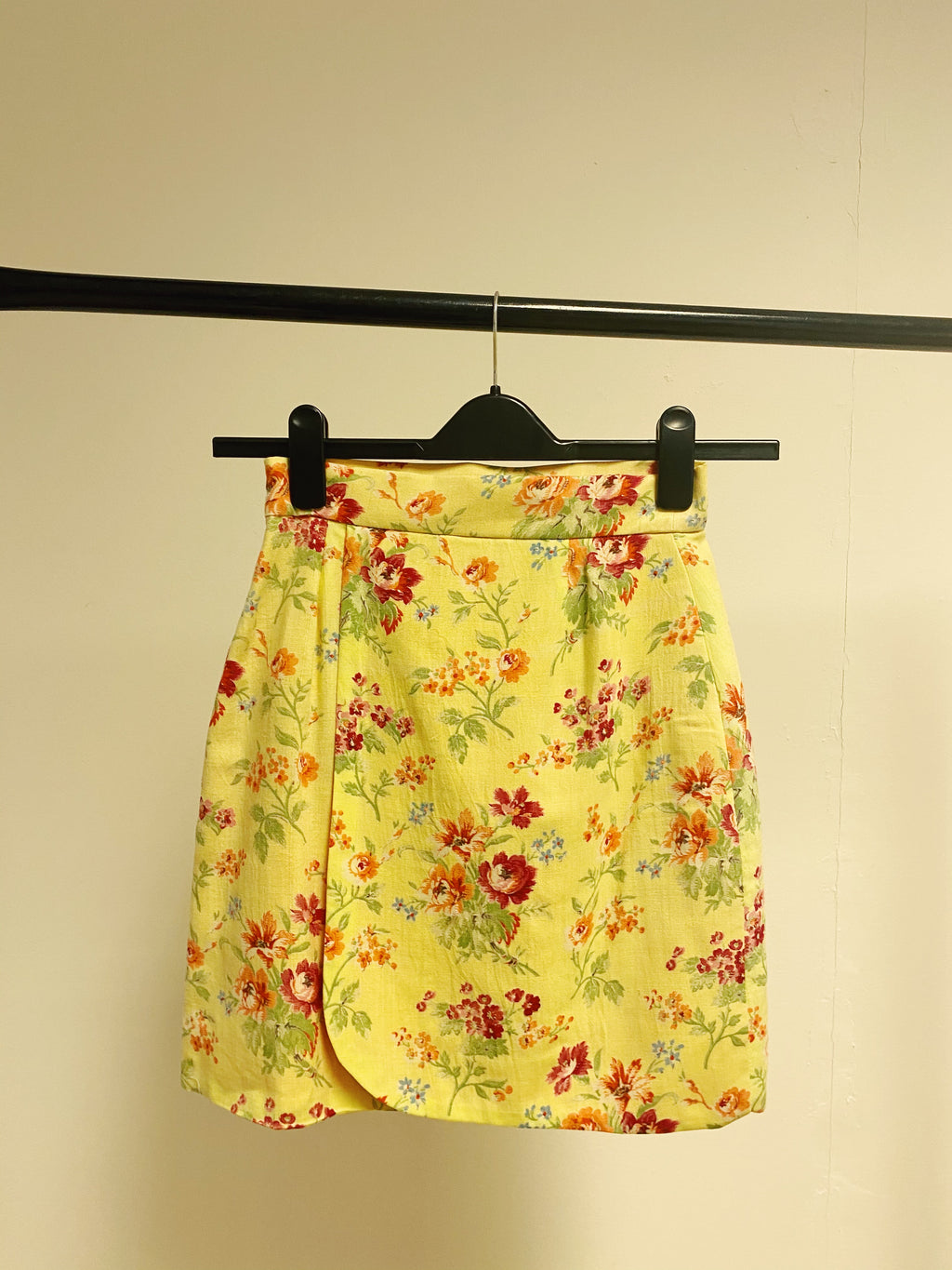 The Nicole Skirt in Sunshine Floral