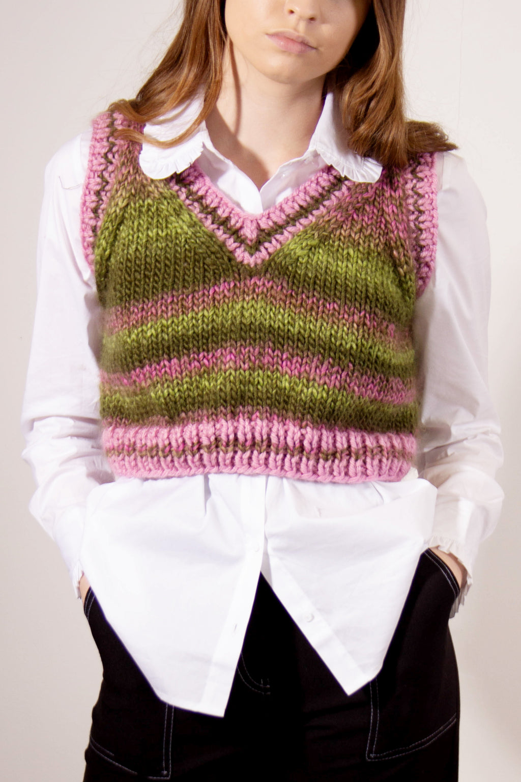 The Lily Hand Knit Cricket Jumper Studio Courtenay